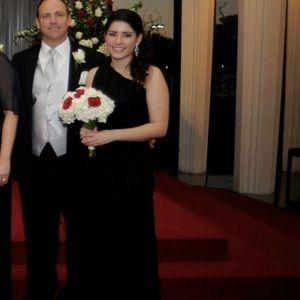 Dresses & Skirts - Black fitted formal dress